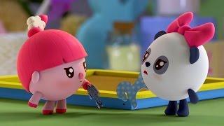 Малышарики - Подружки - серия 28 - обучающие мультфильмы для малышей 0-4