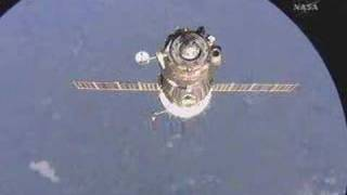 Soyuz TMA-12 approaches ISS
