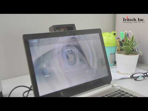 Iris Recognition Demo on Laptop