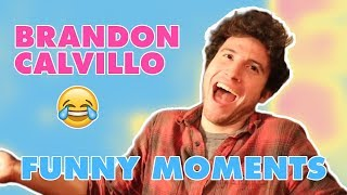 BRANDON CALVILLO FUNNY MOMENTS [PART 1]