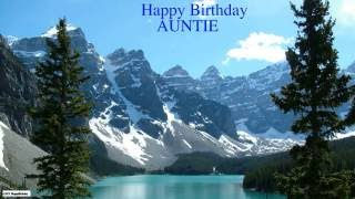 Auntie  Nature & Naturaleza - Happy Birthday