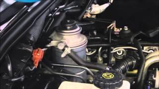Diesel Fuel Filter Replacement - Nissan Navara