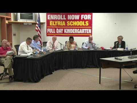 The Elyria Board of Education Meeting, May 17, 2017