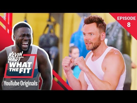 Boxing with Evander Holyfield & Joel McHale | Kevin Hart: What The Fit Ep 8 | Laugh Out Loud Network Mp3