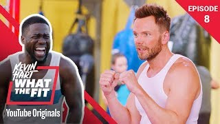 Boxing with Evander Holyfield & Joel McHale | Kevin Hart: What The Fit Ep 8 | Laugh Out Loud Network