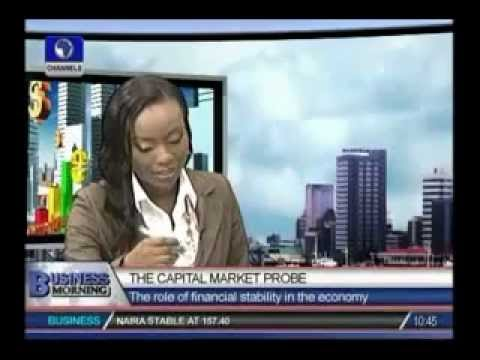 Wale Oluwo on the Capital Market Probe