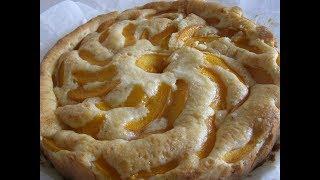 Абрикосовый пирог.Самый простой рецепт.Apricot pie. A simple recipe.