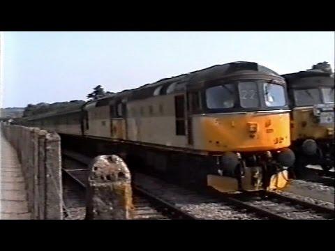 Paignton & Dartmouth Railway diesel gala - 20th June 1992