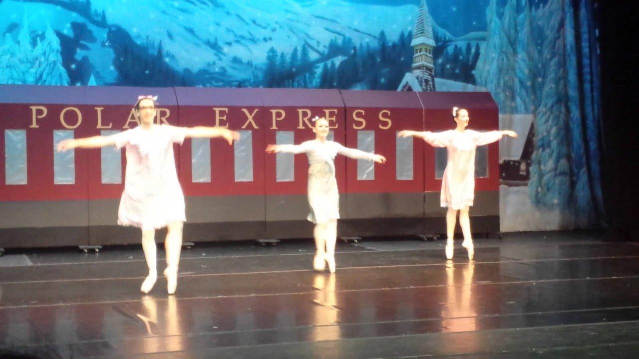 Polar express ballet academy dance company 2014 youtube for Decor express