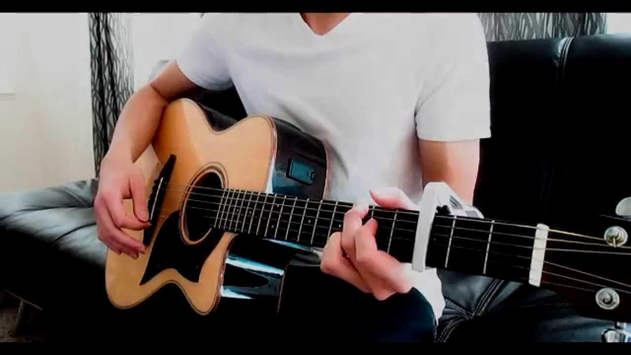 Sword Art Online Ed 1 Yume Sekai Acoustic Guitar