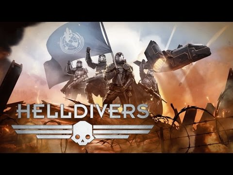 Helldivers (4 Player Co-op) - The Perils of Friendly Fire Nukes and Icy Hot