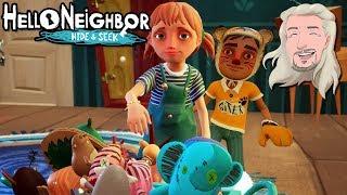 Vi ska på Safari | Hello Neighbor Hide and Seek | del 1