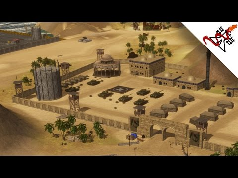 WAR ZONE Middle East - GAMEPLAY [Real Time Strategy game like C&C Generals but w/ Naval Units]