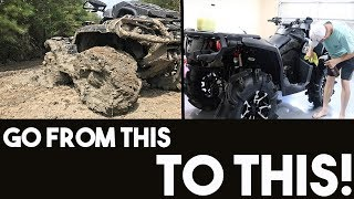 How to SUPER CLEAN your ATV