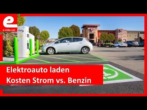 elektroauto laden kosten strom vs benzin youtube. Black Bedroom Furniture Sets. Home Design Ideas