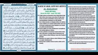 Al Qur an hal 031 Al Baqarah 197 202