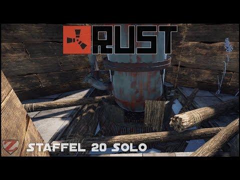 Butze für Ölraffinerie bauen - RUST [S20] #31 - Gameplay German Deutsch