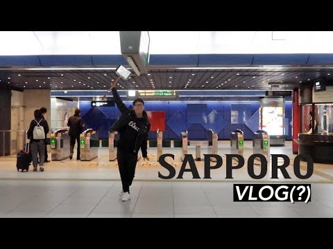 MY FIRST VLOG IN JAPAN #Sapporo
