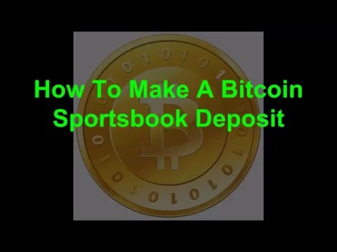 How to make a Bitcoin sportsbook deposit