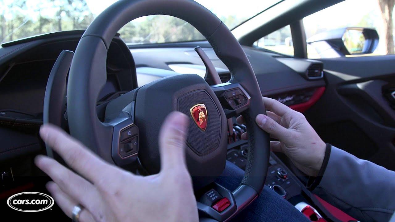 2016 Lamborghini Huracan LP 610 4 Spyder   5 Cool Things   YouTube