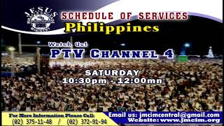 Please Watch!!! JMCIM Central Live Streaming of WEDNESDAY MIDWEEK SERVICE | OCTOBER 16, 2019.