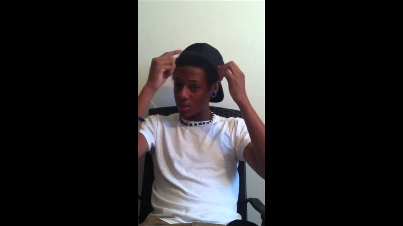 How To Get Straight Hair For Black Guys Youtube