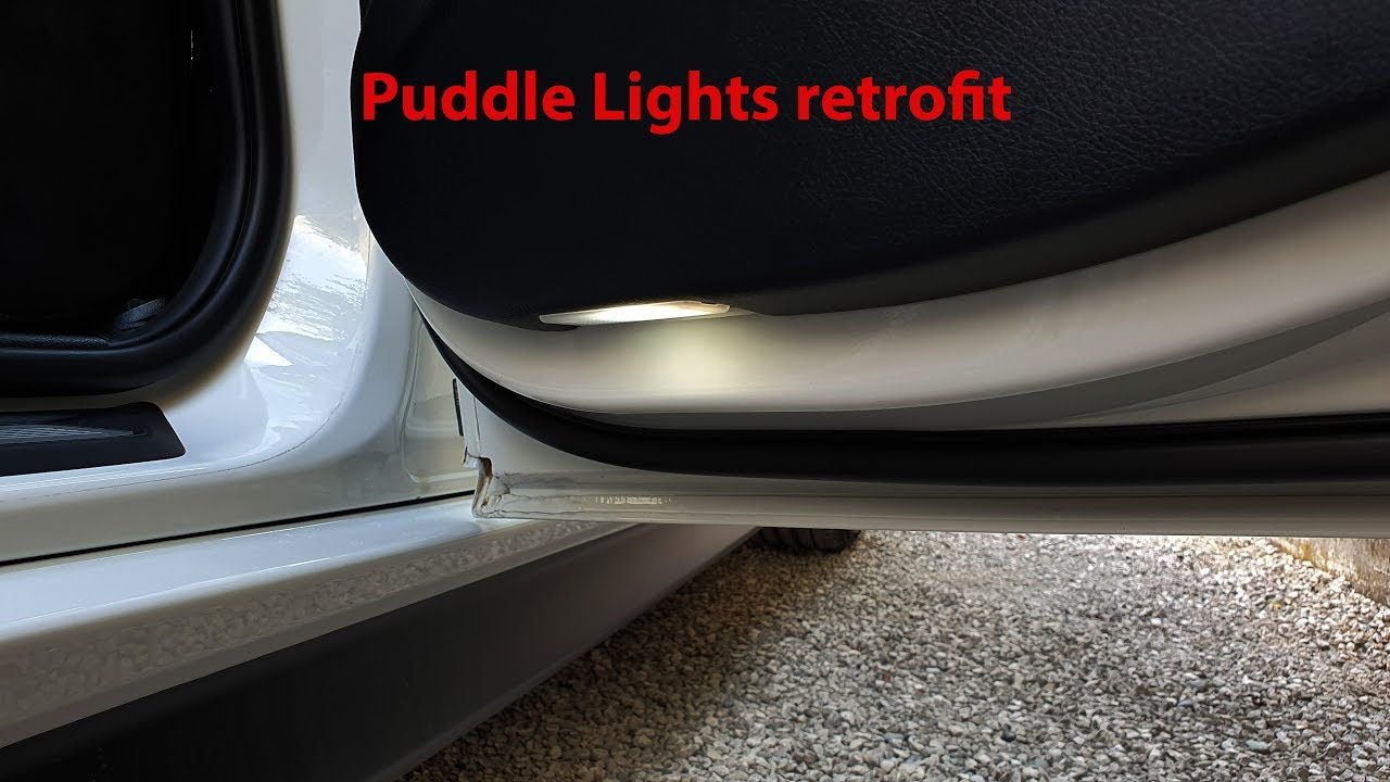 Puddle Lights Retrofit Bmw F30 31
