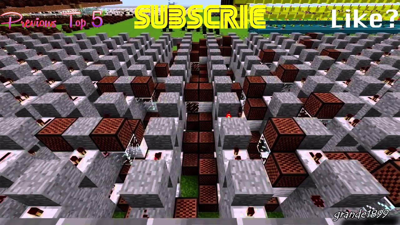 Top 11 Minecraft Noteblock Songs of ALL TIME Ep:11