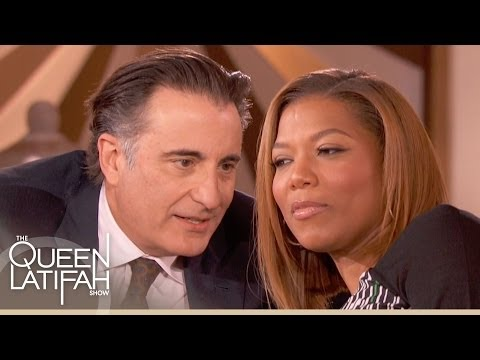 Andy Garcia Teaches Queen Latifah How to Flirt in Spanish  The Queen Latifah