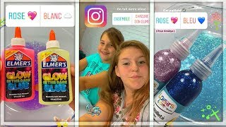 INSTAGRAM CONTRÔLE NOTRE SLIME/ Instagram Followers Control my Slime!