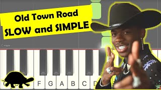 Download lagu old town road piano tutorial slow easy right hand