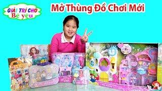 BÉ HUYỀN MỞ THÙNG ĐỒ CHƠI MỚI | Open the new toy box ♥ Giải trí cho Bé yêu