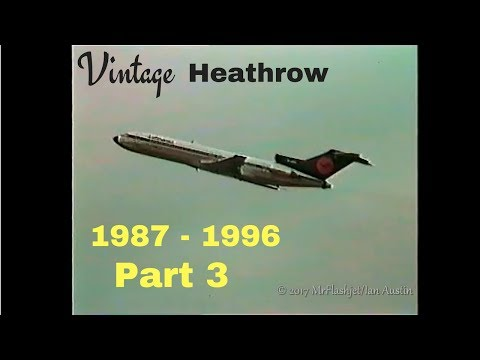 A Day at the Queens Building - Heathrow Airport 1987 - 1996) Part 3