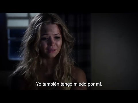 "Pretty Little Liars - Alison DiLaurentis and Mona Flashback SUBTITULADO 4x24 ""A"" is For Answers"