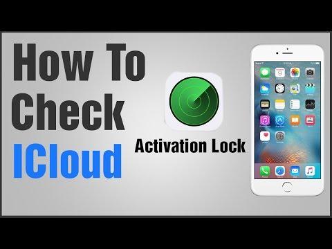 How to Check iCloud Activation Lock Status Urdu/Hindi Tutorial - YouTube