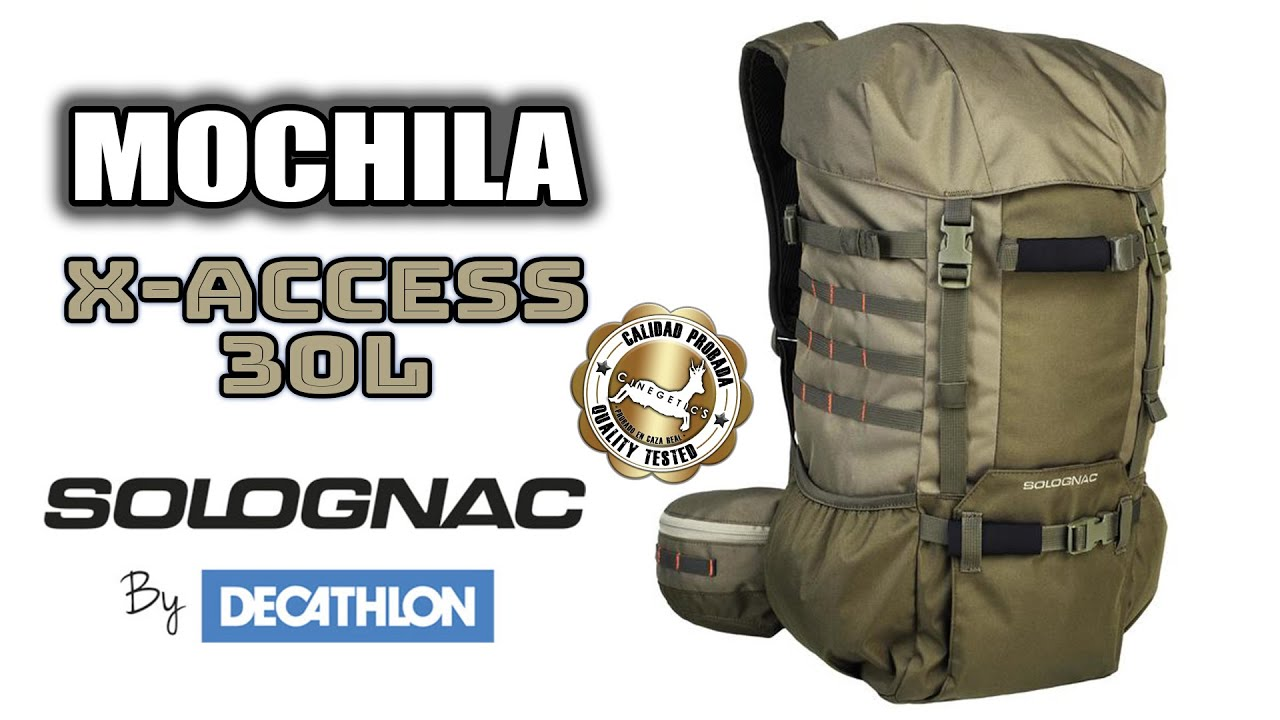 b25f6fde6cb4b Mochila X-ACCESS 30L SOLOGNAC