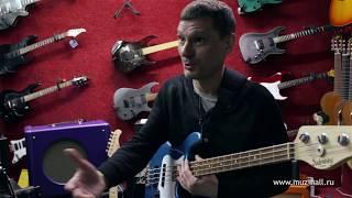Борис Суздалев дает уроки игры на бас-гитаре. Урок №1: Разминка