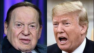 Trump Megadonor Sheldon Adelson, From YouTubeVideos
