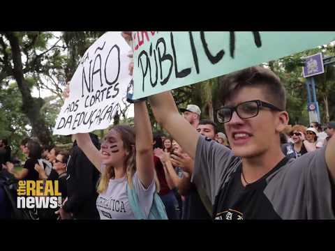 Brazilian Students Take Protest to Next Level, Launch Strike Against Bolsonaro Education Cuts