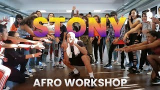Afro Dance Workshop With STONY SP