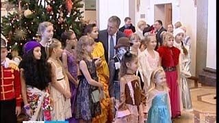 Главная ёлка Карелии собрала 500 ребят со всей республики