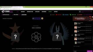 tutorial how to get a free cheap scgo skin every 6 hours with csgo atse