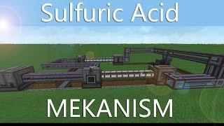 SULFURIC / SULFUR ACID - Mekanism Tutorial [DEUTSCH / GERMAN]