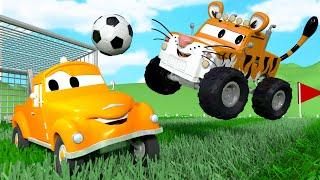 Марли тигр - Малярная Мастерская Тома в Автомобильный Город