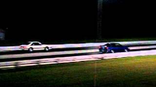 Cavalier Z24 Vs Mustang 5.0 Drag Race