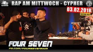 RAP AM MITTWOCH DÜSSELDORF: 03.02.18 Die Cypher feat. FOUR SEVEN, GIER, G-BALLA, SAMI uvm. (1/4)