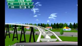 Coaster Works (Dreamcast) - Lv. 5, Extreme Adventure Park (114 points)