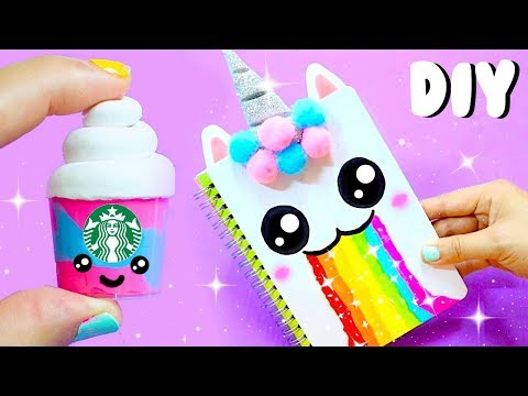 Thumbnail: DIY UNICORN SCHOOL SUPPLIES for Back to School 2017 (Part 1) | Easy & Cute