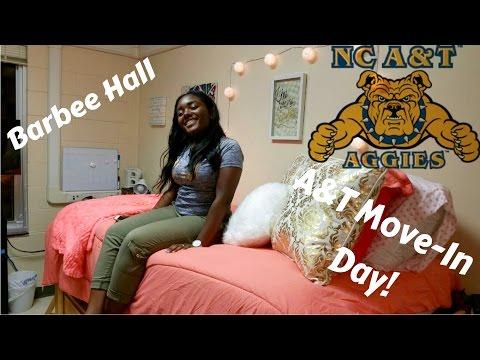(College Vlog 1) North Carolina A&T Move-In Day | Bri Noelle (re upload)