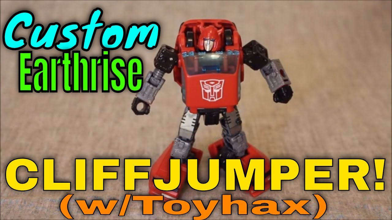 An Evolution of Earthrise Cliffjumper: Toyhax and Custom Work by GotBot